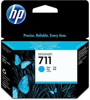 HP 711 29-ml Cyan Ink Cartridge (CZ130A), DesignJet T120, T520
