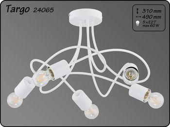 купить 24065 Люстра Targo бел 5л в Кишинёве
