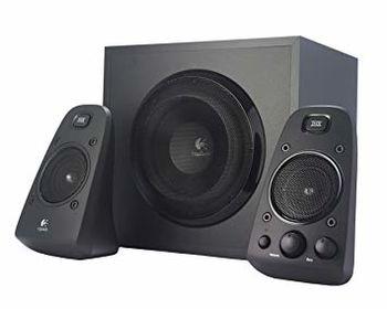 Logitech Z623 Speaker System 2.1 (RMS 200W, 130W subwoofer, 2x35W), Black