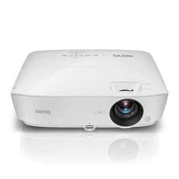 "купить DLP XGA   Projector 3600Lum, 15000:1 BenQ ""MX535"", White Projection System DLP  Native Resolution XGA, 1024 x 768  Brightness* 3600 ANSI Lumen  Contrast Ratio 15000:1   Lens F=2.46-2.66, f=21.8-25.6  Aspect Ratio Native 4:3 (5 aspect ratio selectable)  Throw Ratio 1.94-2.32  Zoom Ratio 1.2x  Projection Offset Vertical: 106%±2.5% (Full image height)  Projection Size 60""~300""   Resolution Support VGA(640 x 480) to WUXGA_RB(1920 x 1200)*RB = Reduced blanking  Horizontal Frequency 15K-102KHz  Vertical Scan Rate 23-120Hz   HDTV Compatibility 480i, 480p, 576i, 576p, 720p, 1080i, 1080p  Video Compatibility NTSC, PAL, SECAM   DMD Chip DC3  Power Consumption 252W(Normal), 211W(Eco), Standby <0.5W  Light Source  UHP 203W  Light Source Life 5000/10000/15000 hours   Interface:   Computer in (D-sub 15pin) x2 *integrate with component   HDMI x2   Monitor out x 1   Composite Video in (RCA) x 1   S-Video in x 1   Audio in (Mini Jack) x 1   Audio out (Mini Jack) x 1   Speaker 2W x 1   USB (Type mini B) x 1   RS232 (DB-9pin) x 1   IR Receiver x1 (Front)    3D Compatibility:  Frame Sequential: Up to 60Hz 720p   Frame Packing: Up to 24 Hz 1080p  Side by Side: Up to 24Hz 1080p  Top Bottom: Up to 60Hz 1080p   Noise Level 32/29 dBA (Normal/Economic mode)   Power Supply AC100 to 240V, 50 to 60 Hz   Security Security bar / Kensington Security Slot  Dimensions(W x H x D) 332.4 x 99 x 214.3 mm   Weight 5.24 lbs (2.38 Kg)   Accessories (Standard): Remote Control w Battery (5J.JG706.001), Warranty Card (by region), Power Cord (by region), VGA cable, QSG (4J.JG701.001)  Accessories (Optional): Spare Lamp Kit (5J.JG705.001) в Кишинёве"
