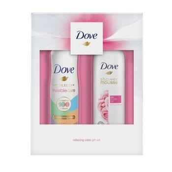 cumpără Cadou DOVE WOMEN ROSE (Shower Mousse 200ml + Deo 150ml) în Chișinău