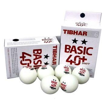 купить Мяч для настольного тенниса Tibhar Basic 2** 40+ SYNTT (880) в Кишинёве