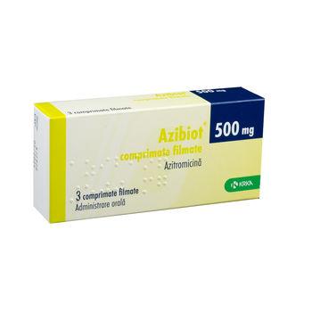 cumpără Azibiot 500mg comp. film. N3 în Chișinău