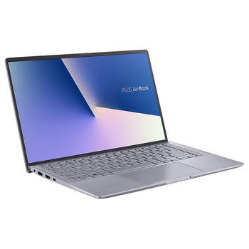 "Laptop 14.0"" ASUS ZenBook 14 UM431IQ Light Grey, AMD Ryzen 5 4500U 2.3-4.0Ghz/8GB/SSD 256GB M.2 NVMe/GeForce MX350 2GB/WiFi 6 802.11ax/BT5.0/HDMI/HD WebCam/Illuminated Keyb/Number Pad/14"" IPS FHD LED Backlit Anti-Glare display (1920x1080)/EndlessOS UM433IQ-A5037"
