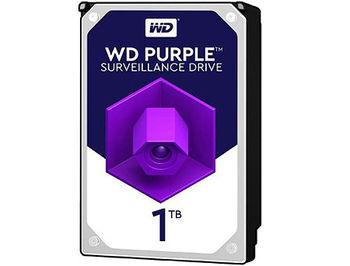 """3.5"""" HDD 1TB Western Digital Purple (Surveillance HDD) WD10PURZ, 5400rpm, SATA3 6GB/s, 64MB (hard disk intern HDD/внутренний жесткий диск HDD)"""