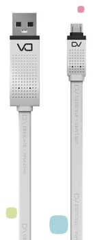 купить DA Micro cable, DT0010M, White в Кишинёве
