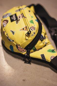 Сумка на пояс Custom Wear Triada Rick and Morty Yellow (383)