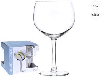 Набор бокалов для коктейля Vinissimo 4шт, 650ml