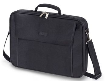 "Dicota D30447-V1 Multi BASE 15""-17.3"" Notebook Case with protective function, black (geanta laptop/сумка для ноутбука)"