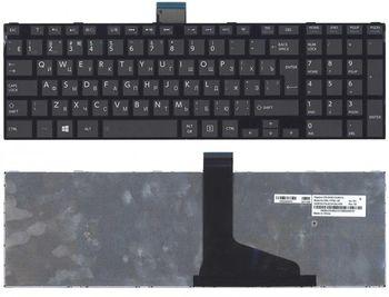Keyboard Toshiba Satellite  C50-A C50D-A C50T-A C55-A C55D-A C55T-A C50DT-A ENG/RU Black