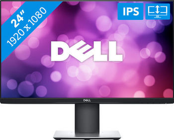 "23.8"" DELL IPS LED P2419HC Ultrathin Bezel Black (5ms, 1000:1, 300cd, 1920x1080, 178°/178°, USB-C port (Power, Data, Video), DisplayPort, HDMI, Pivot, Height-adjustable, USB Hub: 2 x USB3.0 / 2 x USB2.0, VESA.. )"