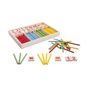 cumpără D-Toys Jocul numerelor cu piese din lemn în Chișinău