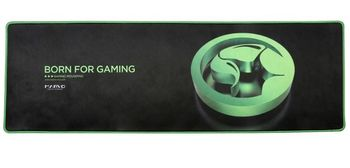 "Marvo ""G13"", Gaming Mouse Pad, Dimensions: 920 x 294 x 4 mm, Material: rubber base + microfiber, Green"