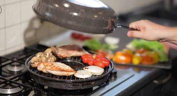 Сковорода - гриль - газ
