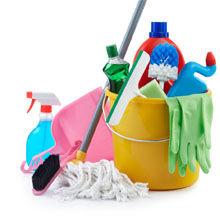 Inventar pentru curăţenie