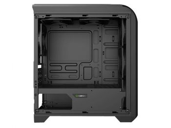 купить Case mATX GAMEMAX Centauri, w/o PSU, 1x120mm, Blue LED, USB3.0, Side Window, Black/Grey в Кишинёве