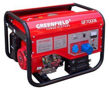 Green Field Генератор дизельный GJD 7000