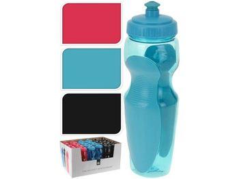 Бутылка питьевая EH 0.6l, H24cm, пластик/силикон