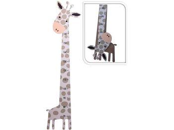 Измеритель роста Жираф H1380cm, деревянный