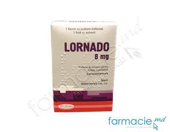 купить Lornado pulb.+solv./sol. inj.8 mg N1 + 2 ml N1 в Кишинёве