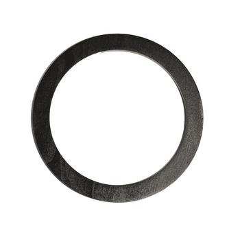Mâner din lemn, negru / 15 cm