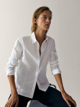 Блуза Massimo Dutti Белый 5190/650/250