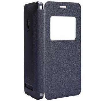 "Чехол для Asus Zenfone 5 ""Nillkin Sparkle Case"" Чёрный"
