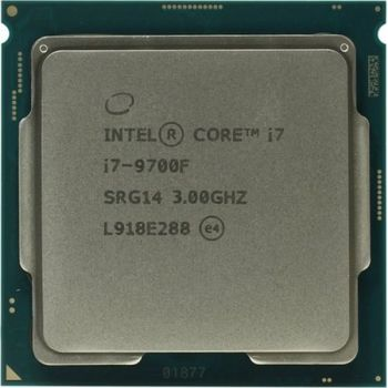 Intel® Core™ i7 9700F, S1151, 3.0-4.7GHz (8C/8T), 12MB Cache, No Integrated GPU, 14nm 65W, tray