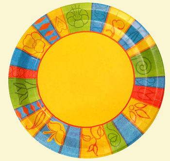 Тарелка со стандартным рисунком