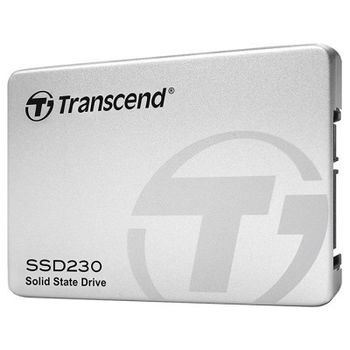 "2.5"" SSD 256GB Transcend Premium 230 Series SATAIII, Aluminum case, Sequential Reads 560 MB/s, Sequential Writes 500 MB/s, Max Random 4k: Read 35,000 IOPS / Write 85,000 IOPS (IOmeter)*, 7mm, 3D NAND TLC"