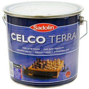 Sadolin Лак Celco Terra 45 Полуглянцевый 10л