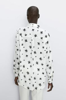 Блуза ZARA Белый 7969/230/070