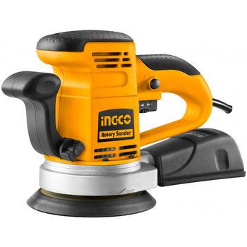 Эксцентриковая шлифовальная машина, INGCO RS4501.2