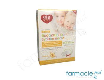 cumpără Pasta de dinti Splat pu copii Vanilie (0-3ani) 40ml în Chișinău