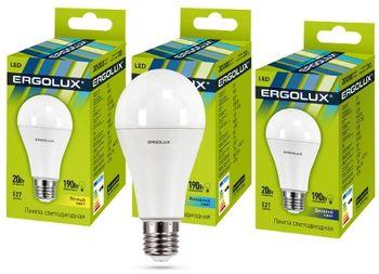 Светодиодная лампа Ergolux LED 12151 A65 20W E27 4500K