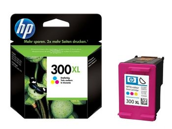 HP No.300XL Tri-Color InkJet Cartridge, with Vivera Ink, 11ml (440pages), DESKJET- D1660, D2560, D2660, D5560, F2420, F2480, F2492, F4210, F4224, F4272, F4280, F4580, PHOTOSMART- C4670, C4680, C4685, C4780