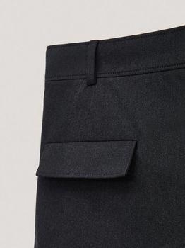 Брюки Massimo Dutti Темно серый 5003/526/401/