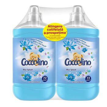 купить Кондиционеры для белья Coccolino Blue Splash Duo, 1800 мл в Кишинёве