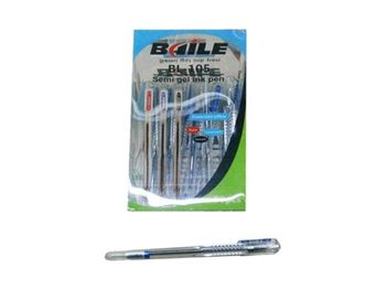 "Ручка гелевая ""Baile"" 0.7mm, синяя"