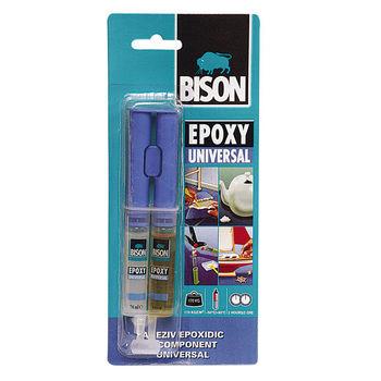купить Bison Epoxy Universal, эпоксидный клей adeziv forte 2x12 ml в Кишинёве