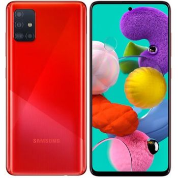 купить Samsung Galaxy A51 4/64Gb Duos (SM-A515), Red в Кишинёве