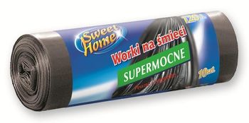 Пакеты для мусора 120л. 10шт. Sweet Home