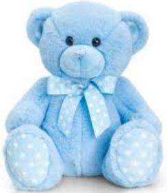 Baby Spotty Bear Мишка 35 см, код 42813