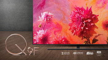 cumpără QLED TV Samsung QE65Q9FN, Black în Chișinău