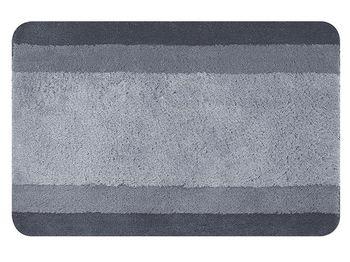 Коврик для ванной комнаты 55X65cm Balance серый, полиэстер