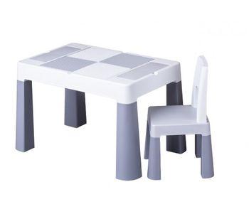 Стол и стульчик Tega Baby Multifun Grey