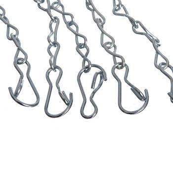 cumpără Plasa baschet din metal (1 BUC) S-R6 (otel, l=52cm, 650gr) (2718) în Chișinău