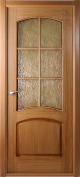 купить Дверь НАПОЛЕОН дуб остекленная в Кишинёве