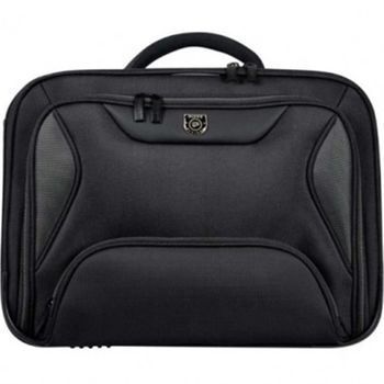 "15.6"" NB Bag - PORT MANHATTAN BF Black, Top Loading, Double compartment - Backfile"