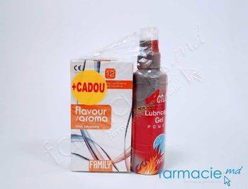 cumpără Lubrifiant Actual cu efect de incalzire 75 ml+Prezervative Family N12 Aromate Cadou în Chișinău